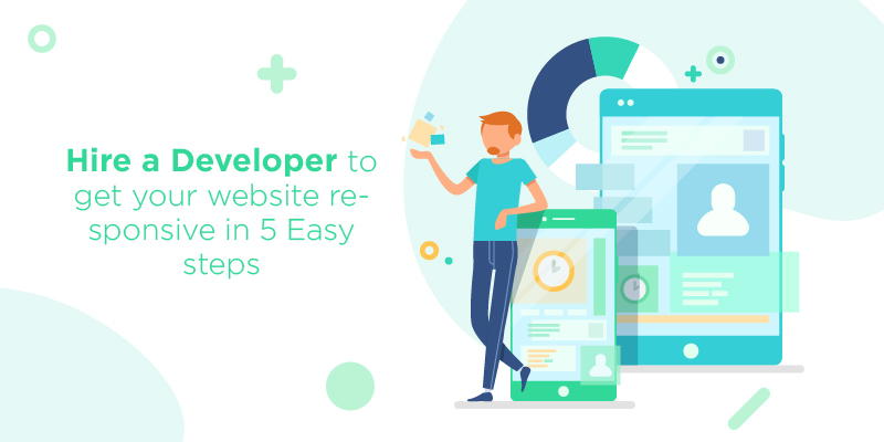 Hire a Developer to get your website responsive in 5 Easy steps